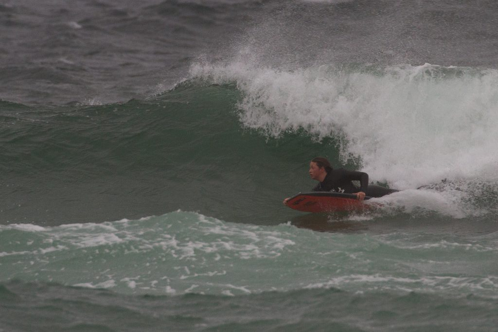 Gabs Taylor, ladies bodyboard final