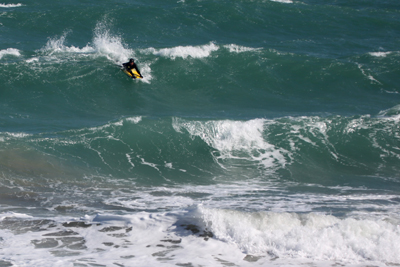 Jerseybodyboarding's Colin Crowther at Anne Port
